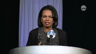 Dr. Condoleezza Rice on being the guardians of college sports