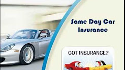 Same Day Car Insurance Cover with No Deposit, No Credit Check Online