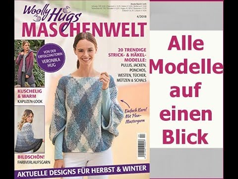 Woolly Hugs Maschenwelt 04/2018 - Blick ins Heft - Redaktion Hug ...