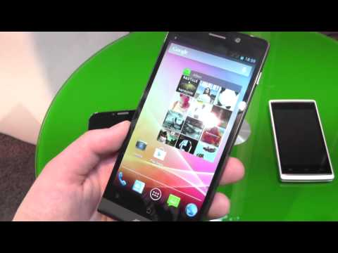Archos 50c Oxygen with OctaCore CPU Hands On at CeBIT 2014