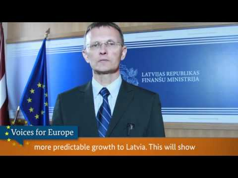 Voices for Europe: Andris Vilks, Minister of Finance, Latvia