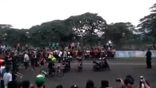 Abidin Jabrik Motor vs Jali Jali SMS Ahon (start view)