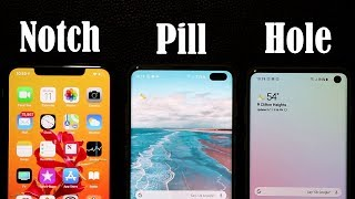 Galaxy S10+ vs iPhone Xs Max: Notch vs Hole (Display Comparison)