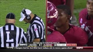 2013 #21 Ole Miss vs #1 Alabama HD
