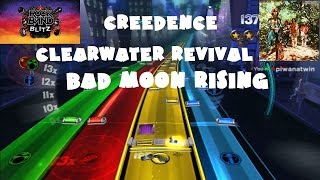 Creedence Clearwater Revival - Bad Moon Rising - @RockBand Blitz Playthrough (5 Gold Stars)