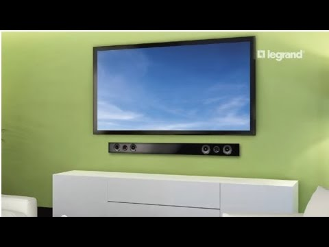 Wiremold: How to Install the Flat Screen Power Kit with Soundbar ...