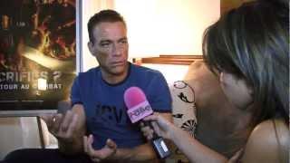 Jean-Claude Van Damme à Montréal - Expendables 2