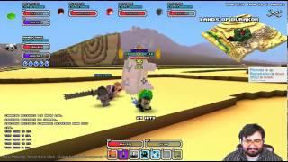 Cube World Live: LEMON BEETLE Fight! Rogue Ninja Lv 34