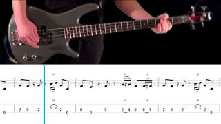 Mr. Brownstone Bass Tab and Play Along - Guns N