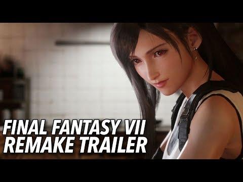 Final Fantasy VII Remake Trailer | E3 2019