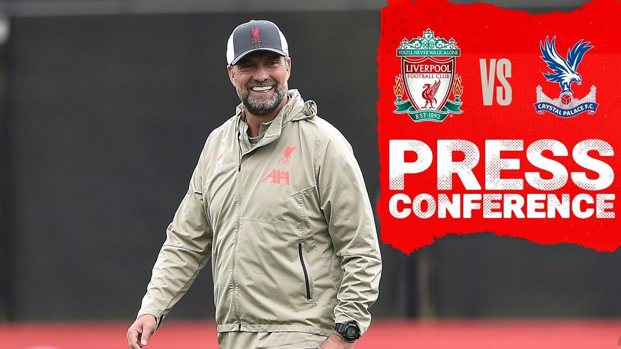 Download Jürgen Klopp's pre match press conference   Crystal Palace