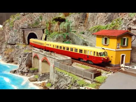 Grandi treni sulla Riviera Ligure
