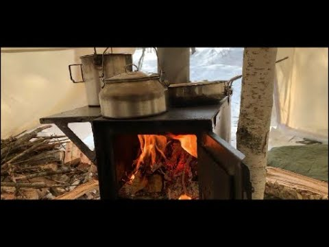 Download Winter Camping: Hot Tent Overnight -10 degrees