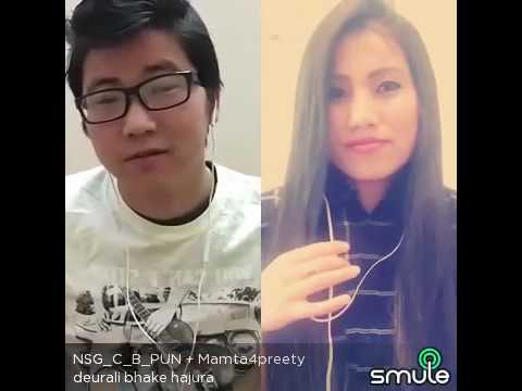 Deurali bhake hajura cover by Mamata Gurung and Chandra Pun Magar