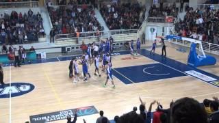 Sinpaş Denizli Basket - BEST Balıkesir maçı sonrası yaşananlar.
