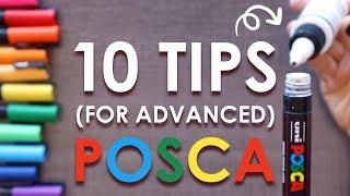 10 MORE Posca Pen Tips