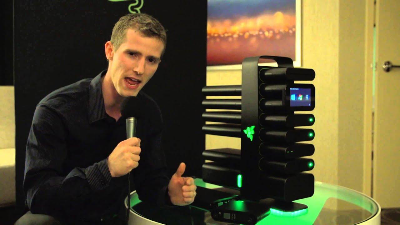 razer project christine fully modular gaming pc concept