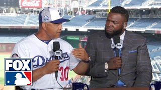 Dave Roberts joins FOX MLB crew to share his thoughts about coaching the NL All Stars | FOX MLB