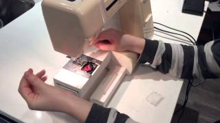 How to thread your Janome Sewing Machine - Part 2 (Inserting Bobbin)
