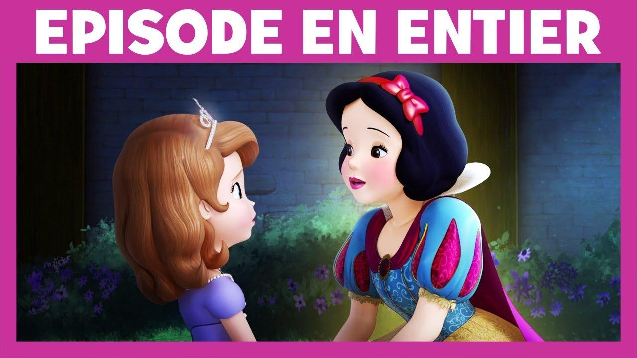 Princesse Sofia Moment Magique Blanche Neige Encourage Sofia A