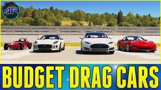 Forza Horizon 2 Online : BUDGET DRAG CAR CHALLENGE!!!
