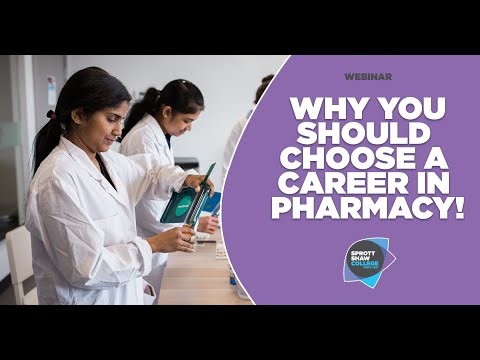 Why You Should Choose A Career In Pharmacy | International Student Webinar | Sprott Shaw College