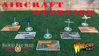 Blood Red Skies Aircraft Overview