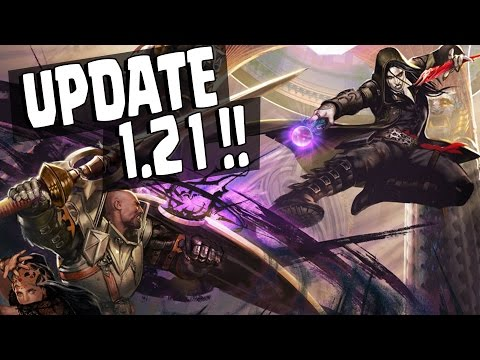 Vainglory - FULL UPDATE NEWS! Samuel & All New Skins [Update 1.21 Patch Notes]