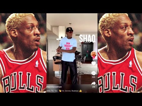 In The Zone - VIDEO: You are NOT Ready for Dennis Rodman on Tik Tok