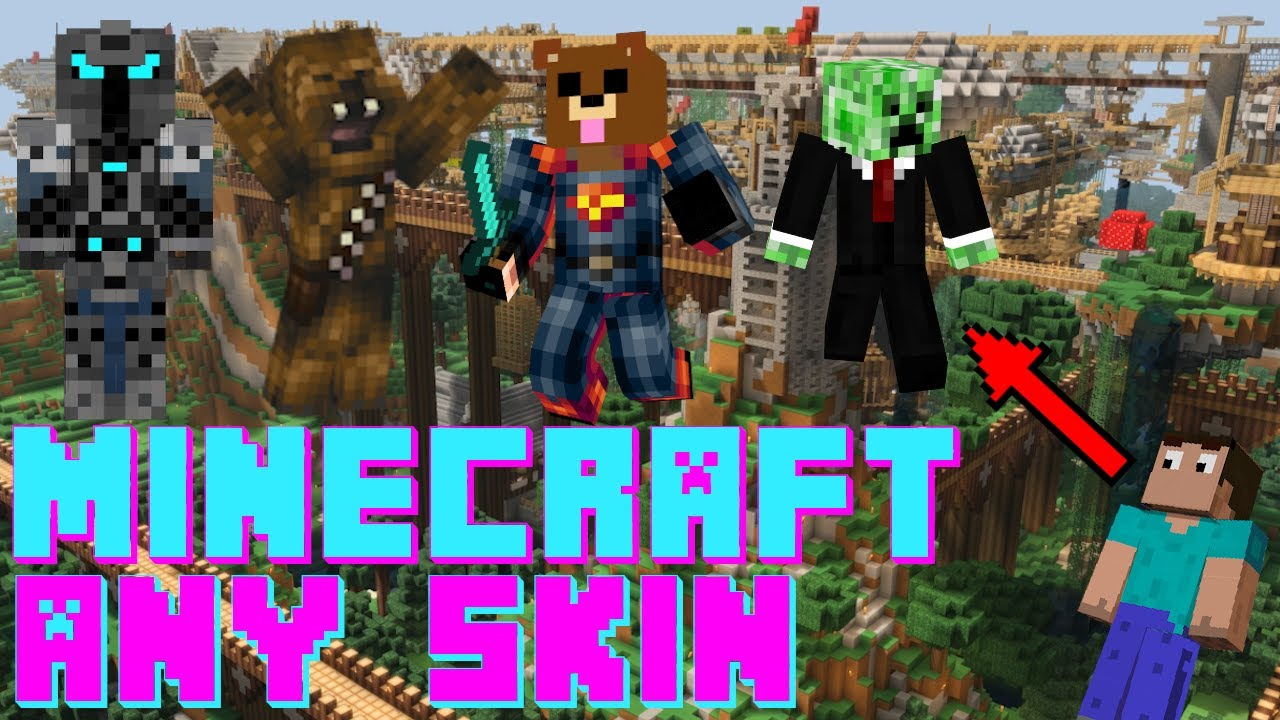 How to get custom skins in Minecraft java edition 12.127+