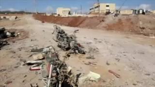 Raw: Aftermath of Deadly Syria Car Bomb