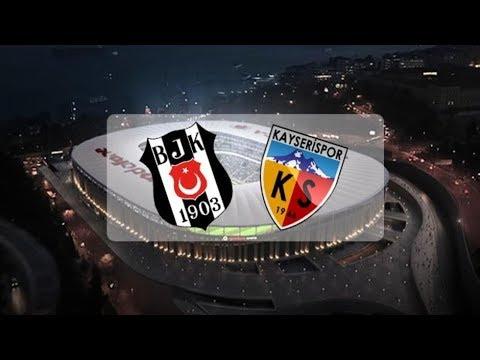Beşiktaş – Kayserispor 1-1 / Hazırlık maçı / Goller & Maç sonu / 02.09.2017