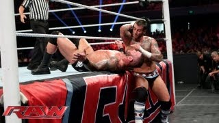 CM Punk vs. Randy Orton: Raw, July 8, 2013