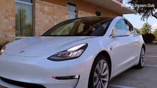 Супер подробный видео-обзор Tesla Model 3 в качестве 4k | News Titan Electro