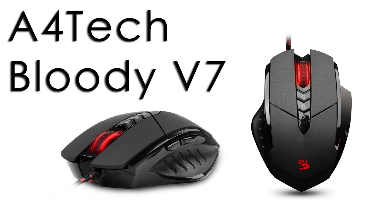 A4Tech Bloody V7 Mouse Recenzja - YouTube