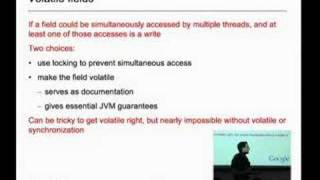 Advanced Topics in Programming Languages: The Java Memory...