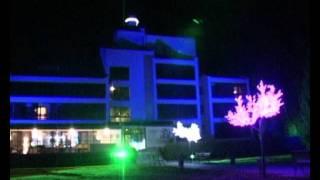 Парк Отель Ая  Архитектурная подсветка(, 2011-11-26T11:13:43.000Z)