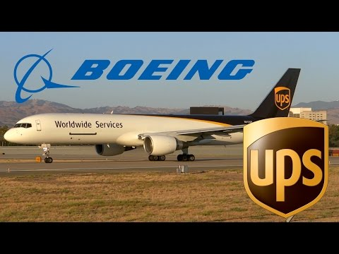 HD United Parcel Service 757-24A(PF) N415UP *New Livery* Takeoff from San Jose International Airport