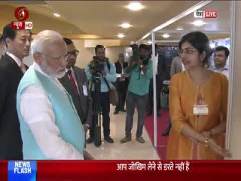 PM Modi Visits Research Park At IIT Madras