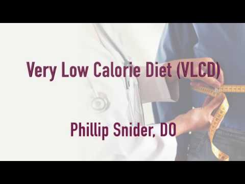 Treatment of Obesity: Using a Very Low-Calorie Diet (VLCD)