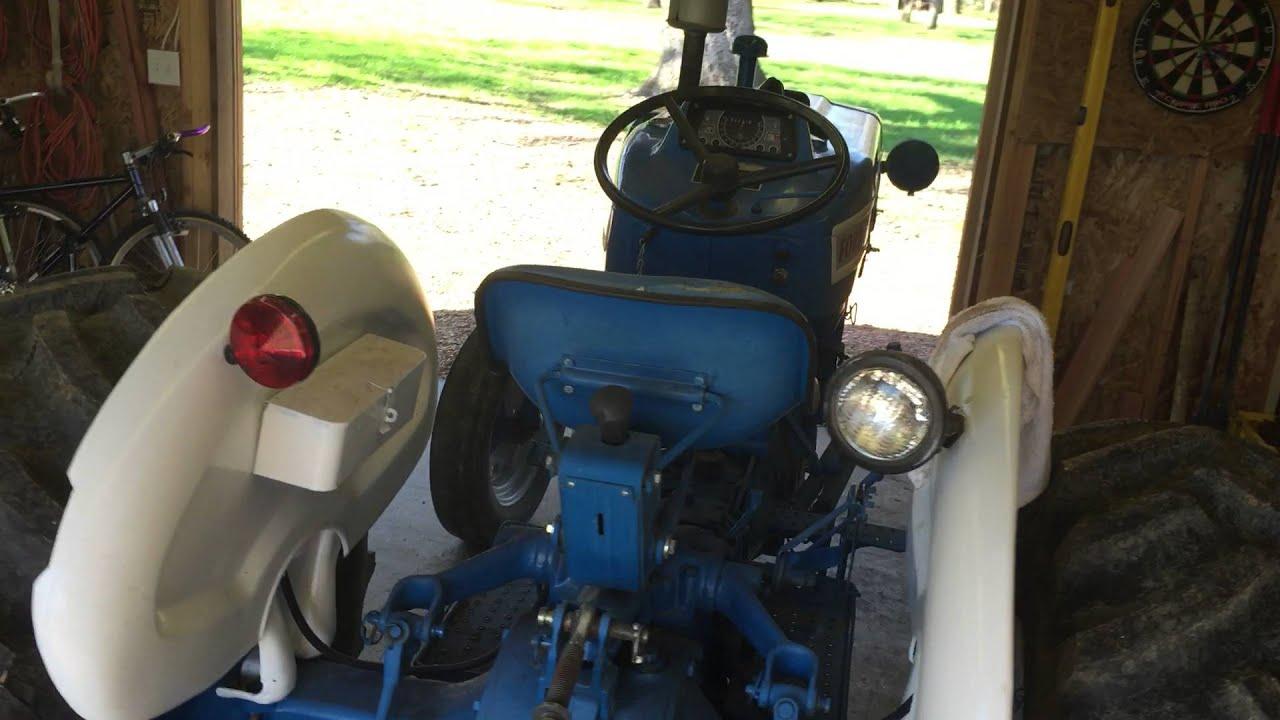 medium resolution of rough running ford 3000 gas tractor