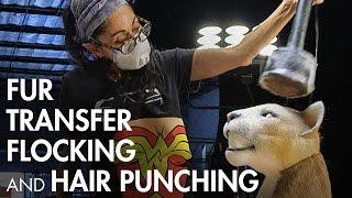 Fur Transfer, Electrostatic Flocking & Hair Punching - Preview