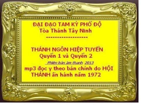 Thánh Ngôn Hiệp Tuyển – DAO CAO DAI (TRỌN BÔ)