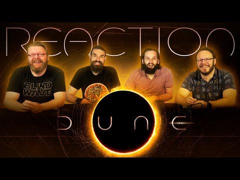 Dune - Official Trailer REACTION!!