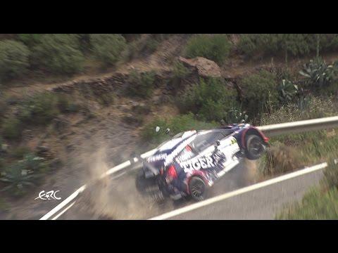 Rally Islas Canarias 2017 Crash Tomasz Kasperczyk Youtube