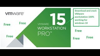 Gambar cover How to free Download and crack VMware Workstation 15 pro on windows