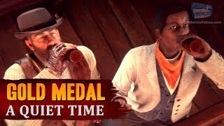 Red Dead Redemption 2 - Mission #13 - A Quiet Time [Gold Medal]