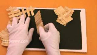 How To Make A Hut With Popsicle Sticks