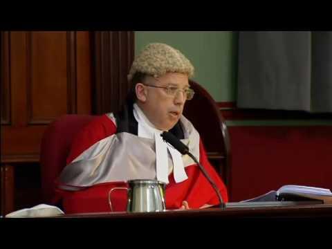 Justice Robert Beech-Jones Hands Down Sentence to Eddie Obeid - Dec 15