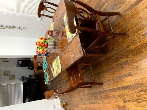 $45 DIY Dining room wood table